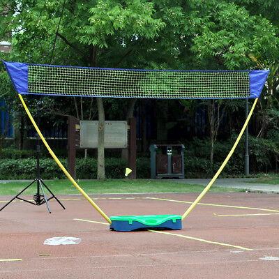 3in1 Outdoor Sport Badminton Tennis Volleyball Net Portable Stand Battledore