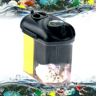5.5W 150L/H Aquarium Fish Tank Hang On External Filter Canister With Material 1