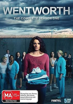 Wentworth : Season 1 (DVD, 5-Disc Set) R-4- LIKE NEW- FREE POST IN AUSTRALIA