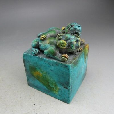 Chinese jade ,collection, hand-carved, dragon, seals S462