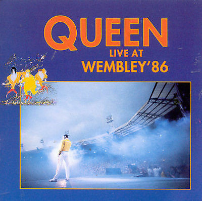 CD - Live at Wembley '86 by Queen (CD, Oct-1994, 2 Discs, Hollywood)