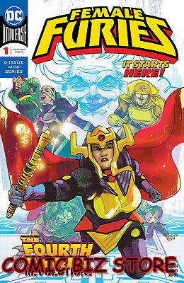 Female Furies #1 (Of 6) (2019) 1St Printing Mitch Gerads Main Cover Dc Universe