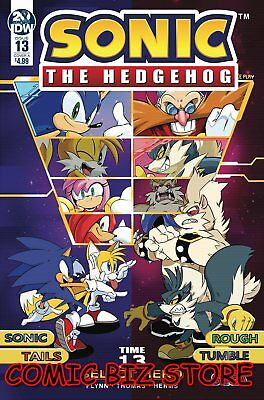 Sonic The Hedgehog #13 (2019) 1St Printing Thomas Cover A Idw Comics