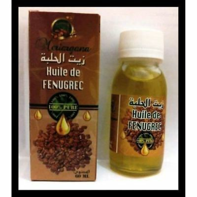 Huile de Fenugrec 60 ml authentique fenugreek oil