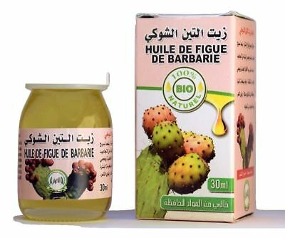 HUILE DE FIGUE DE BARBARIE PUISSANT ANTIRIDES 30ml  Prickly Pear Oil