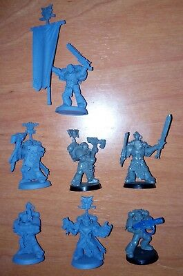 W40k - Space Wolves: 7x Space Wolves Wolf Guards
