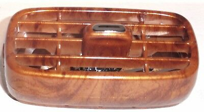 A/C heater vents(4) wood grain push tab adjustable Peterbilt 2006 & up