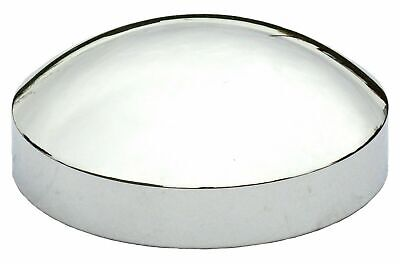 "hub caps(4) rear 8"" ID 1-1/2 sidewall dome chrome for Kenworth Freightliner Pete"