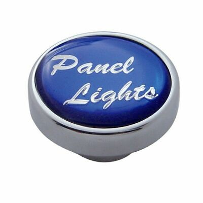 knob panel light blue glossy sticker for Peterbilt Kenworth Freightliner dash