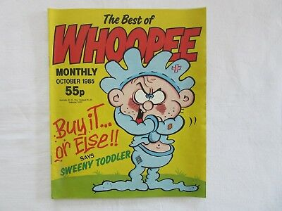 The Best Of Whoopee Monthly October 1985 Comic