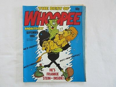 The Best Of Whoopee Monthly September 1986 Comic