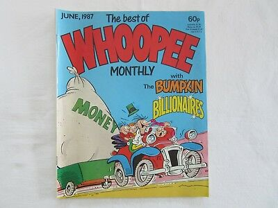 The Best Of Whoopee Monthly June 1987 With The Bumpkin Billionaires Comic