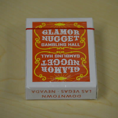 Glamor Nugget Playing Cards Red Rare Limited Poker Casino Deck not Bicycle