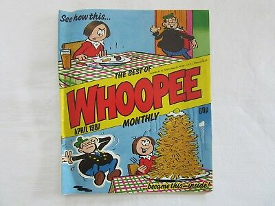 The Best Of Whoopee Monthly April 1987