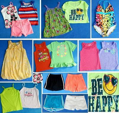 NICE CLEAN Lot 17pc girls clothing Sz 6 6X  6-7 Justice Nautica Place Sono ~2S40