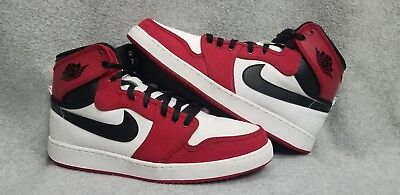 73e6027a6b52 Nike Air Jordan 1 KO AJKO High OG Chicago White Red Black Size 12. 638471