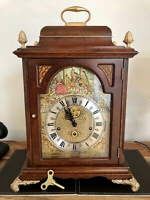 Christiaan Huygens Moonphase Musical Bracket clock