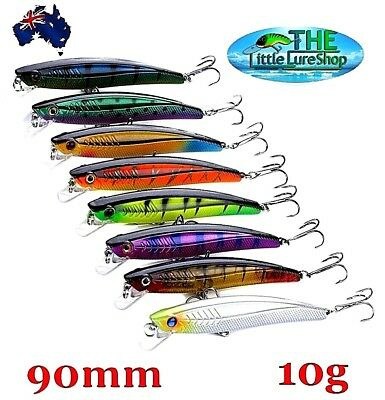 Redfin Crank baits Fishing Lures Freshwater Minnow Crankbait Flathead Bream Bass