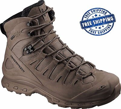 Salomon Quest 4D GTX Forces Burro Brown GORE-TEX Military Boots Polizei Schuhe
