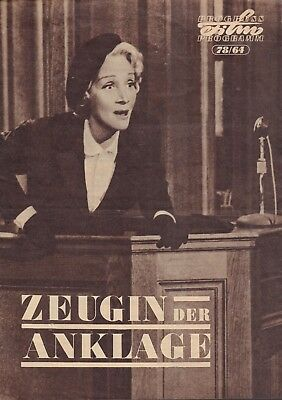 Marlene Dietrich - Photo's + Articles Films   From German Magazines 1944-1957