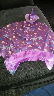 Build A Bear My Little Pony Twilight Sparkle Wizard Cape And Hat