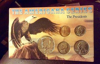 The American Series The President 5 Coin Set
