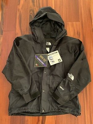 Mens Vintage The North Face Mountain Light Jacket Coat GORE TEX Black L NWT bf960600d