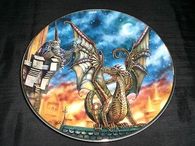 Royal Doulton Myles Pinkney Franklin Mint Lure of the Dragon Collector Plate