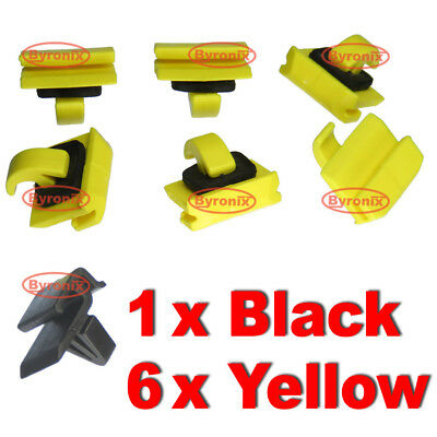 Windscreen Clips Side A Pillar Trim For Seat Toledo Leon Moulding Cover Plastic