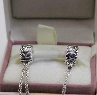 AUTHENIC PANDORA Grains of Energy Safety Chain 797588-06  #1386