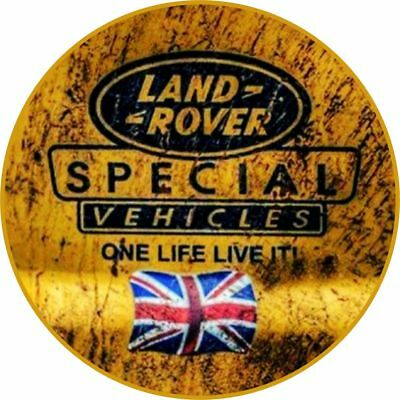 Land Rover Car Surf Vinyl Decal Sticker DEFENDER DISCOVERY Funny Uk 4x4 off road