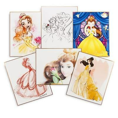Disney The Art of Belle - Lithograph Collection Limited Edition - Kunstdruck-Set
