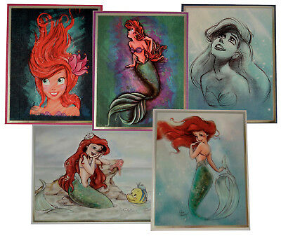 Disney The Art of Ariel - Lithograph Collection Limited Edition 1 von 500