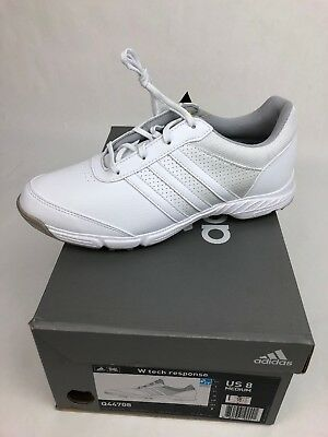 28a3c06a40b2 NEW ADIDAS LADIES W Tech RESPONSE GOLF SHOES SIZE 8 WHITE  Q44708 FSTSHP