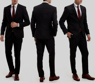 NWT HUGO(Hugo Boss Red Label) Slim Fit 120 Super Wool Luxurious Business Suit