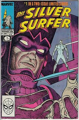 The Silver Surfer #1 • Mini (1988) – Cover by Moebius, script by Stan Lee! NM +