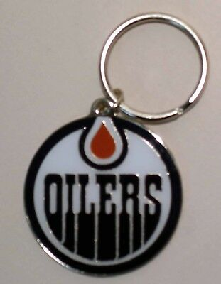 Edmonton Oilers - Nhl Licensed Logo Keychain - Top Quality Metal - New!