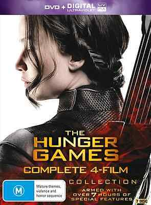 The Hunger Games COMPLETE Collection (7 Disc Set) : NEW DVD