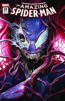 Amazing Spider-Man #29 Mary Jane Venom Francesco Mattina B Variant Marvel Comics