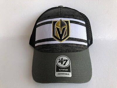 47 Brand Vegas Golden Knights Mvp Mesh Back Snapback Hat Nhl Cap Adult Vgk  New 75ac53afc7b7