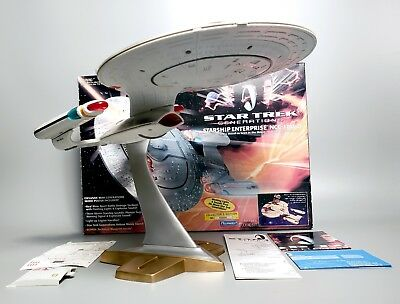 Playmates 1994 Star Trek Generations, Electronic Battle Damage Enterprise 1701-D