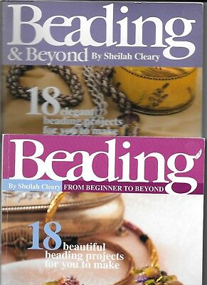 Two Beading Books By Sheilah Cleary