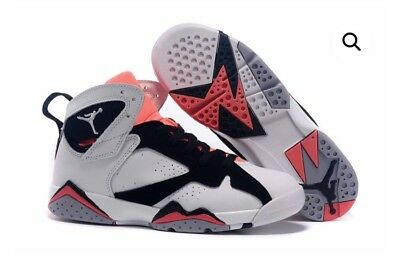 Jordan Retro 7 Black/white/pink Us 7y