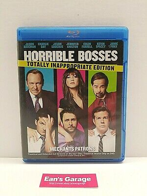 Horrible Bosses: Blu-ray / DVD movie - 3 disc set - Canadian - with warranty