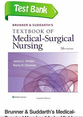 (PDF)TESTBANK Brunner and Suddarth's of Medical-Surgical Nursing 14th ed.