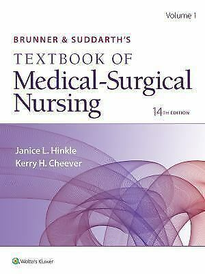 (PDF)Brunner and Suddarth's TextBook of Medical-Surgical Nursing 14th ed.