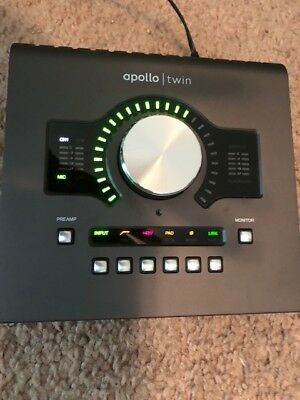 Universal Audio Apollo Twin MKII Quad Thunderbolt Audio Interface - Black