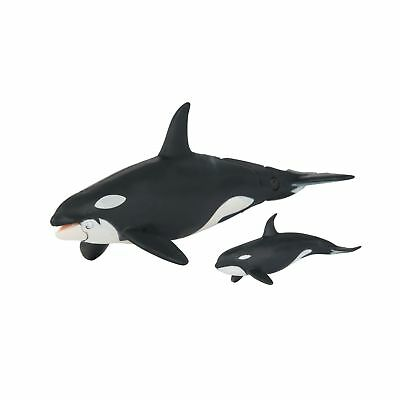 Animal Pack Baby Killer Whale Calf Mini Figure Play Toy Kids Ocean Sea Creature Animals & Dinosaurs Action Figures