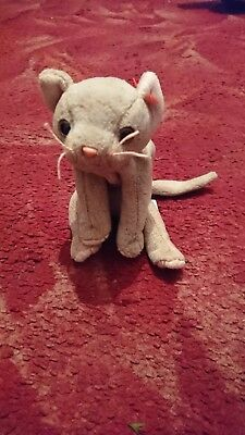e25c3fca3e5 Ty Beanie baby  Scat  Grey cat. Soft toy Excellent condition