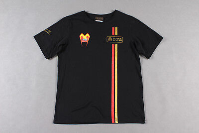 T-SHIRT Adult Formula One 1 Lotus F1 Team NEW! Pastor Maldonado 2014/15 Size M